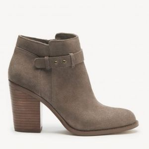 Sole Society Lyriq Taupe Bootie